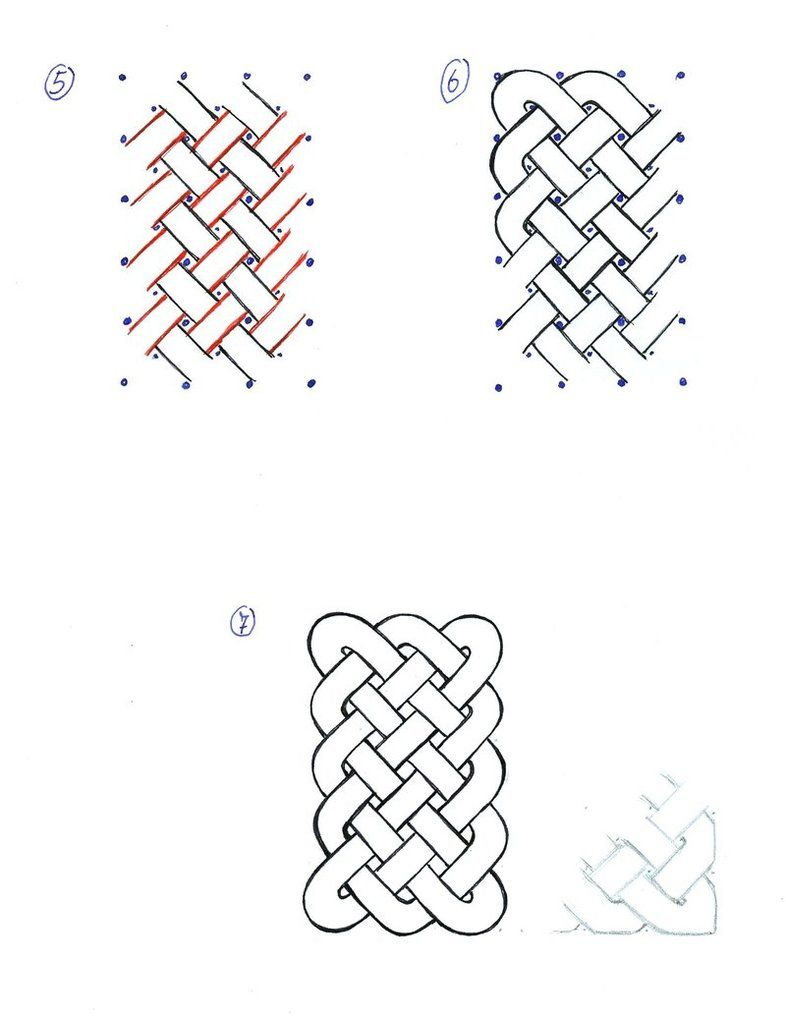 How to draw Celtic Knots 02 by SecondGoddess on deviantART
