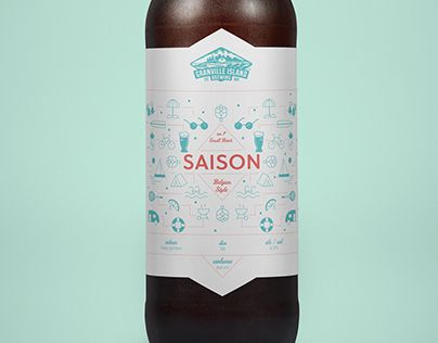 "Check out new work on my @Behance portfolio: ""Saison Beer Label"" http://be.net/gallery/51951569/Saison-Beer-Label"