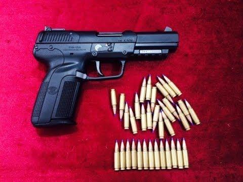 Fn Five Seven 5.7 x28 mm tanıtımı ve deneme atış | Fn five seven. Guns. Hand guns