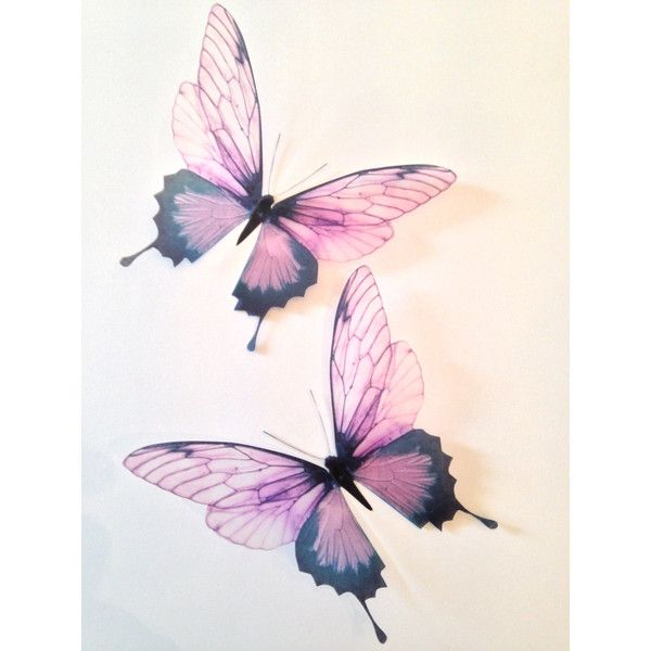 Butterfly Home Decor Accessories 91 100 Pink Champagne 100D Butterflies  Butterfly Decal Sticker Home Decor