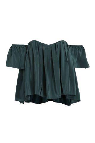 10 Must Have Off the Shoulder Tops - Spring Off the Shoulder Blouses - Elle