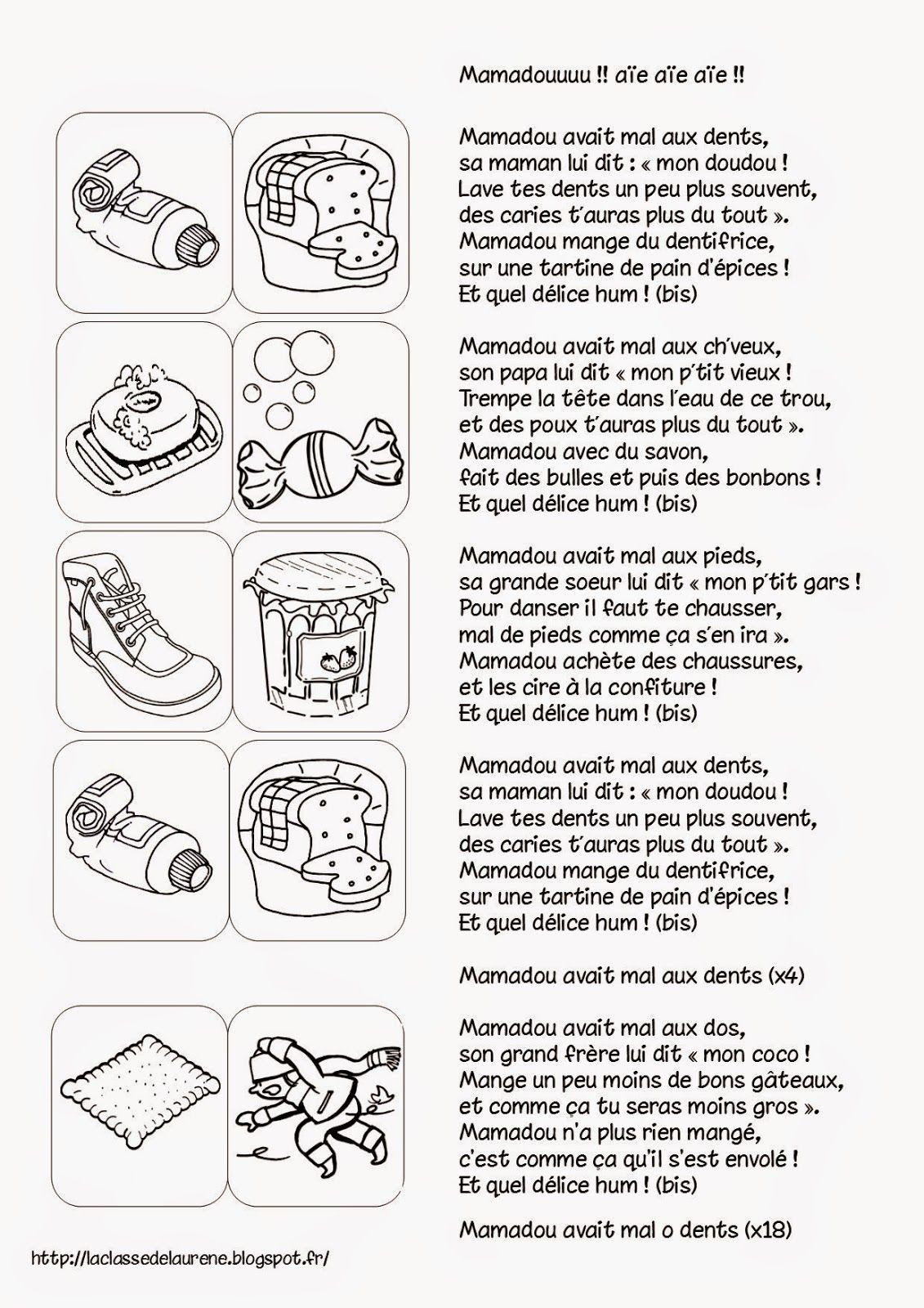 La Maternelle De Laurène Mamadou Avait Mal Aux Dents French Learn