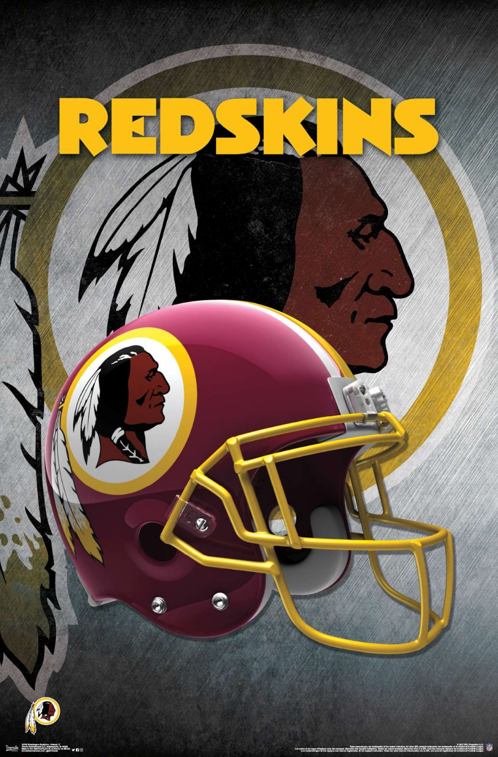 Nfl Washington Redskins Helmet Redskins Helmet Nfl Football