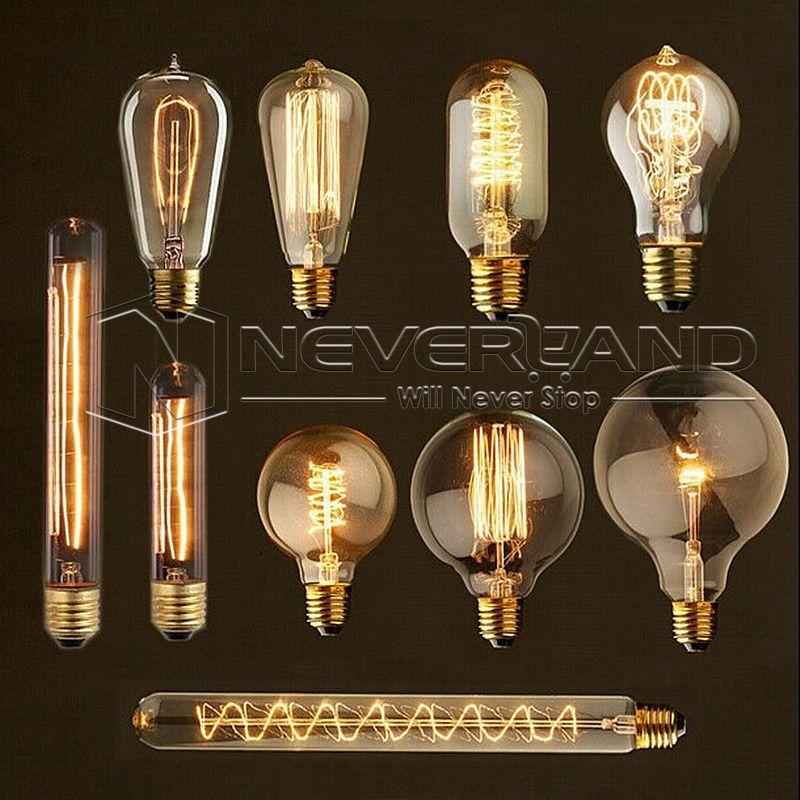 Glühbirne im Retro-Look Glühlampe Antiklampe Retrolampe Lampe Lampen Glühbirnen