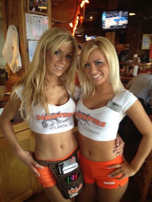 Consider, that hooters girls black shorts Seldom.. possible