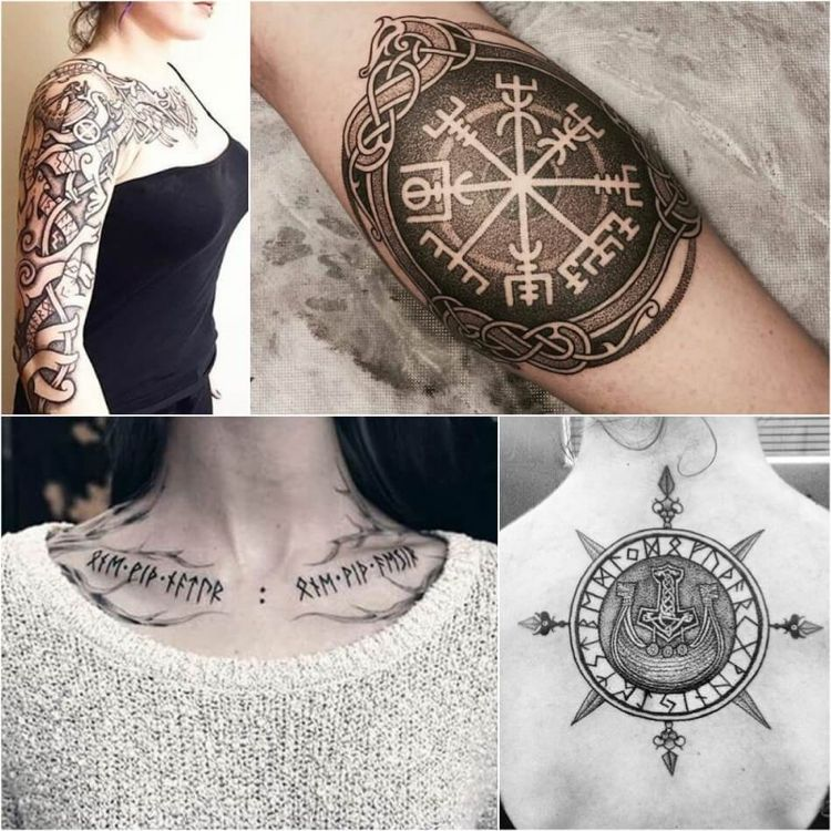Wikinger Symbole Nordische Runen Und Ihre Bedeutung Als Tattoos
