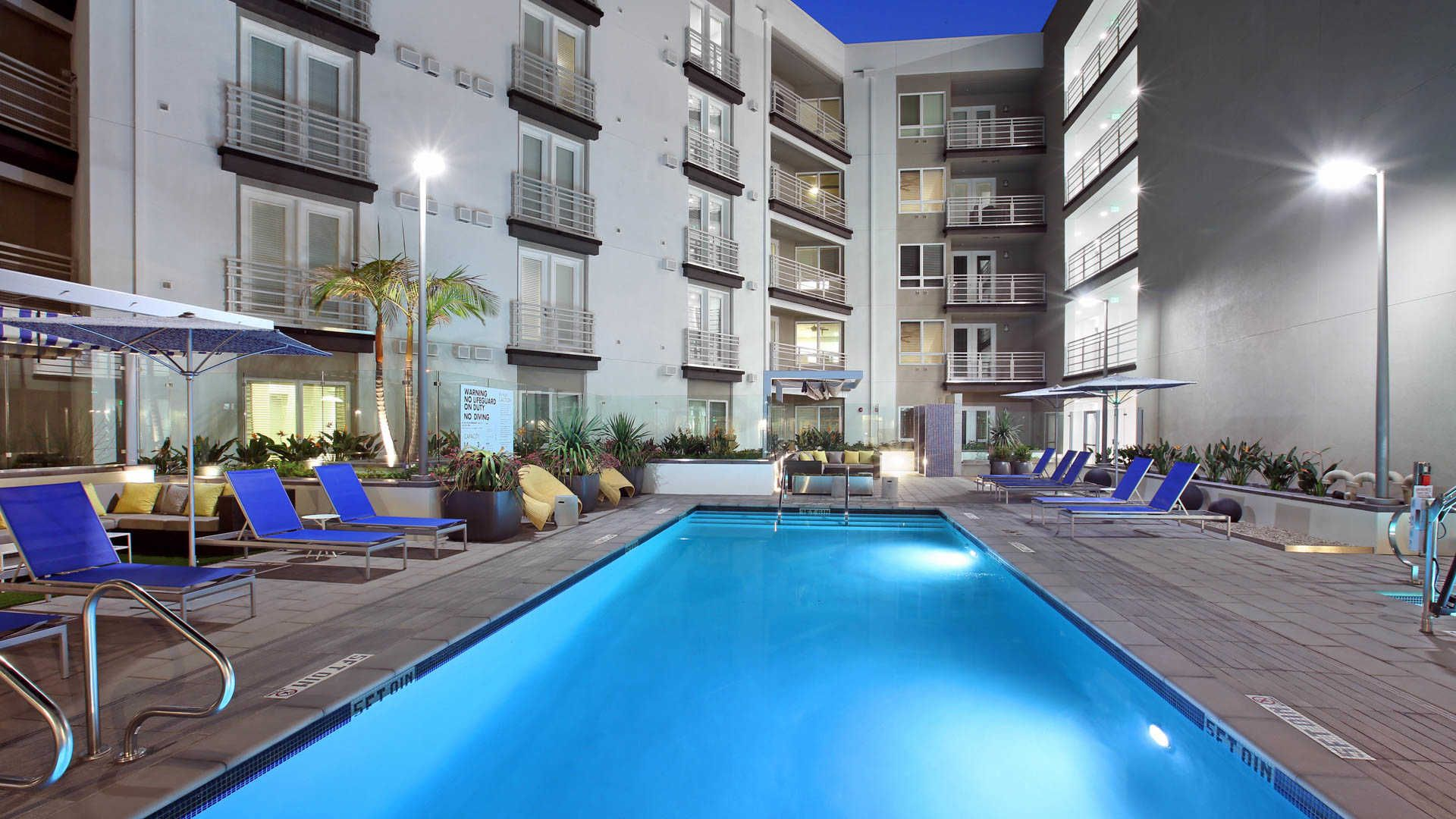 Altitude Apartments West Los Angeles Apartment Swimming Pools