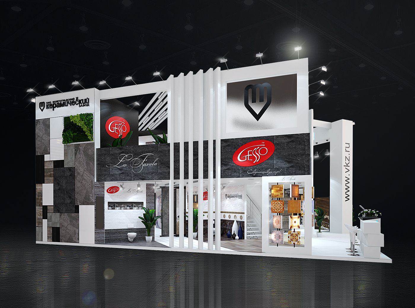 ВКЗ batimat russia stall booth design trade