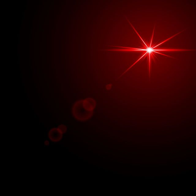 Starlight Lens Flare Red Light Effect Illuminated Vector Luminous Vector And Png Lens Flare Light Red Backdrops Backgrounds