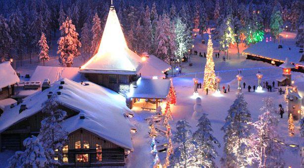 Laponie, le pays du Père Noël | Pays du pere noel, Noel en laponie