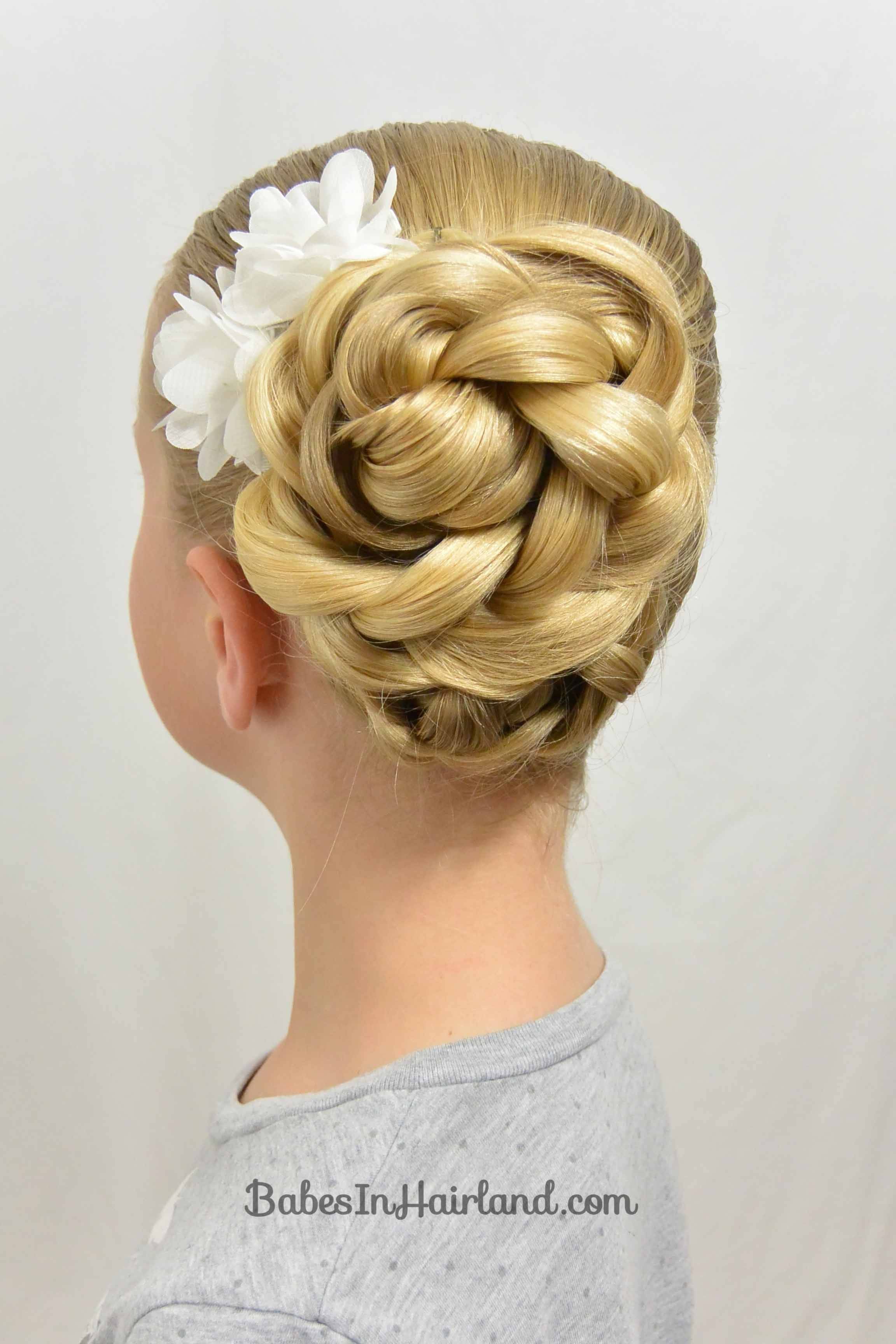 Easy easter updo and a hair trick babes in hairland peinados