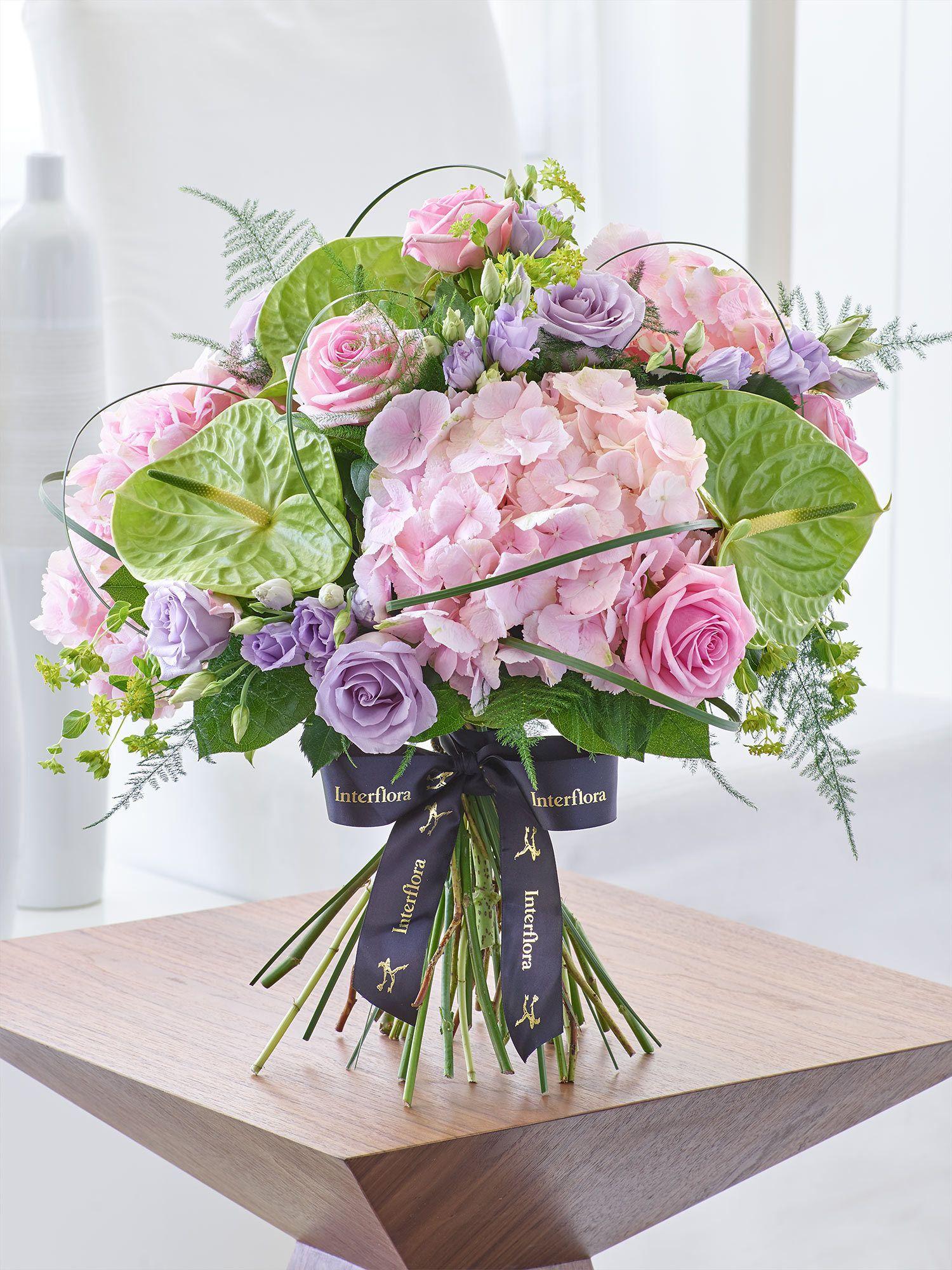 Luxury Rose And Hydrangea Hand Tied