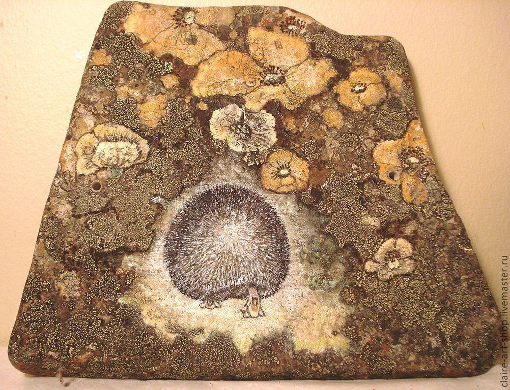 Подарок фото на камне