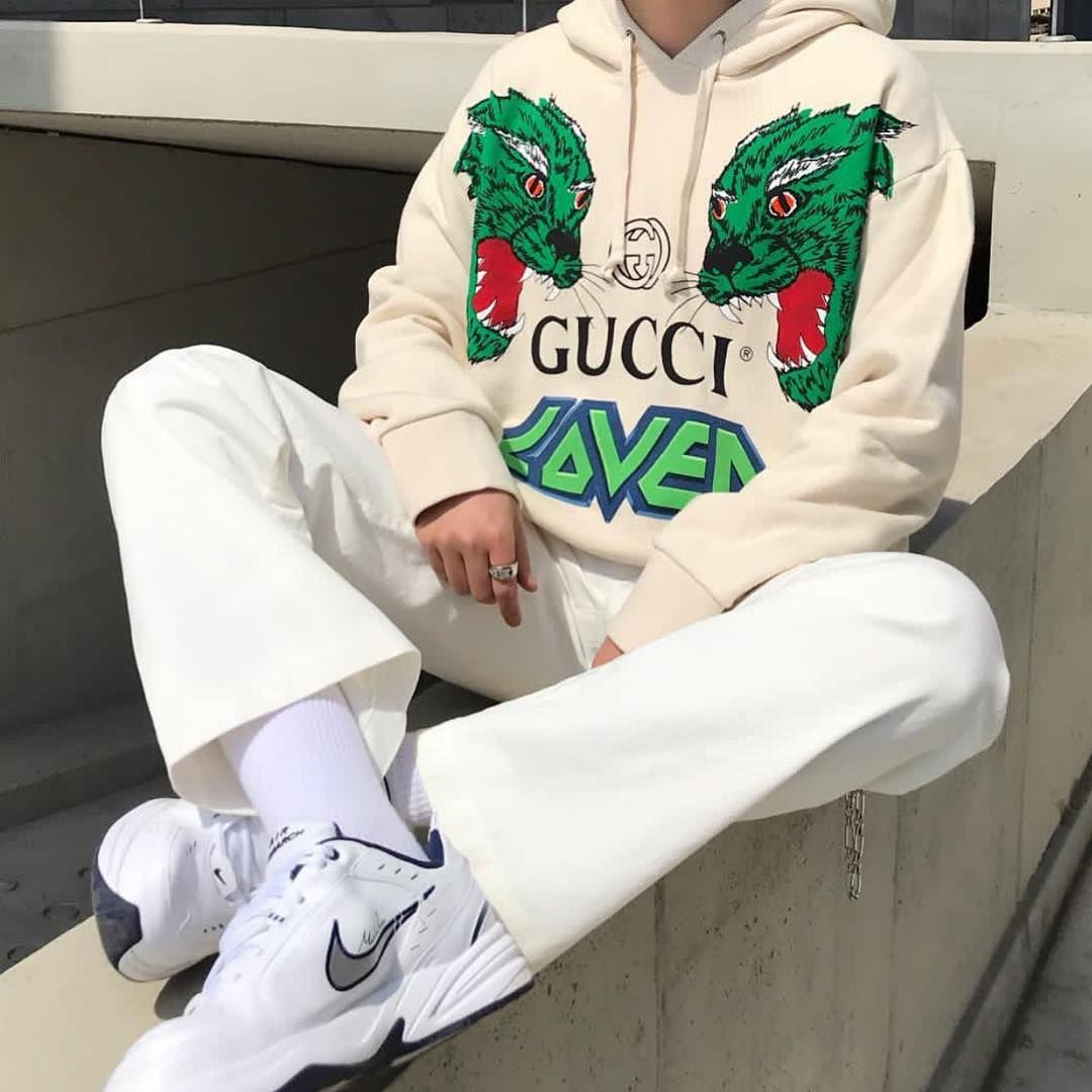 Menswear On Instagram Do You F With This Gucci Hoodie D Hoo Ni Nclgallery [ 1080 x 1080 Pixel ]