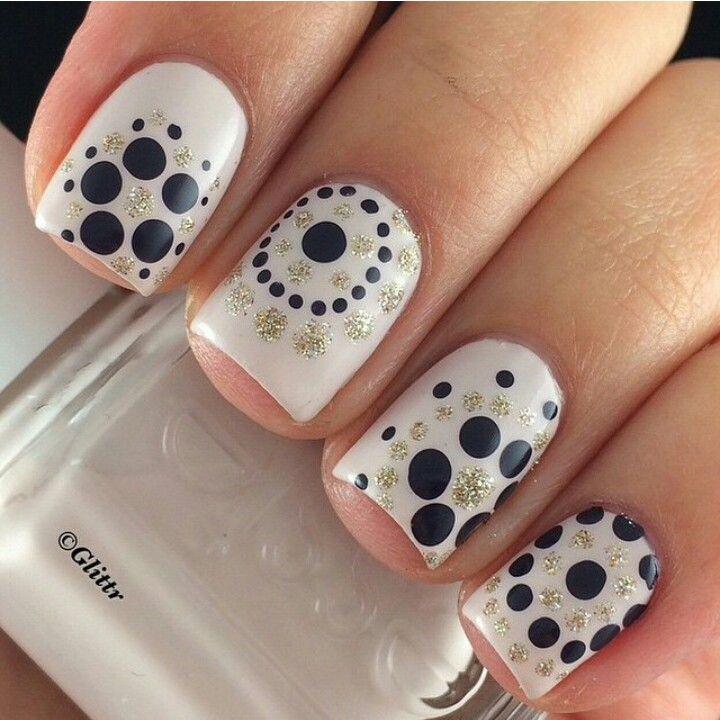 20 Cute Dotticure and Polka Dots Nail Arts Ideas | Instagram ...