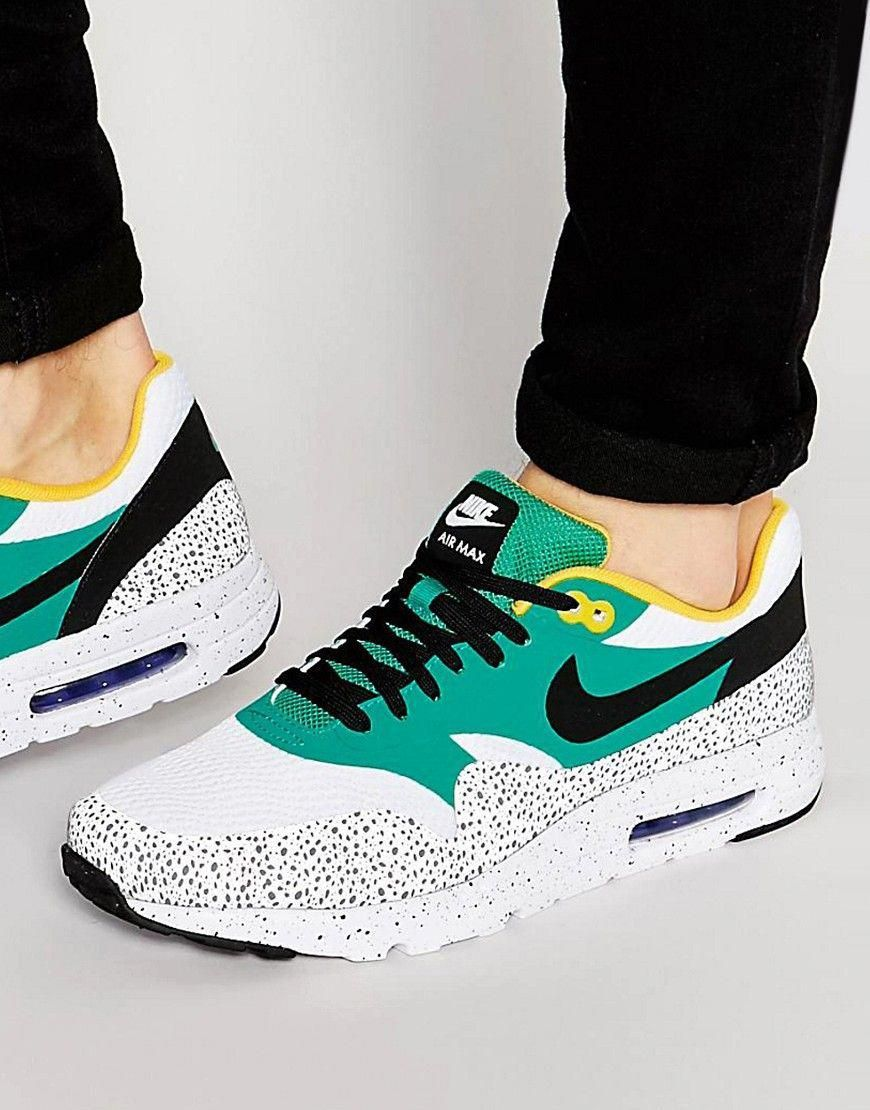 huge selection of 45a1b fce71 Image 1 of Nike Air Max 1 Ultra Essential Trainers 819476-103  TwistedXShoesWomensnearMe