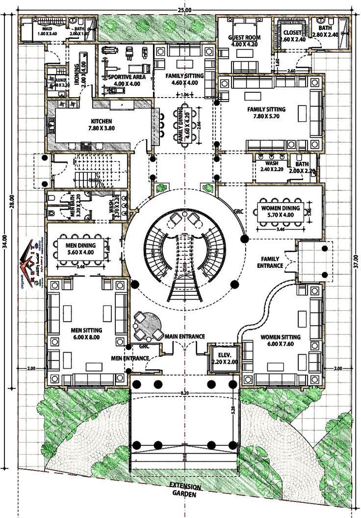 Design Villa Palace design villa foor Single