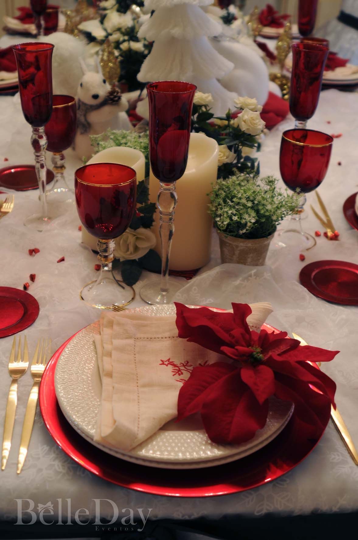 Christmas Party Table Same Colours As Michaels Pinterest Party Christmas Dinner Party Dinner Party Centerpieces Christmas Table