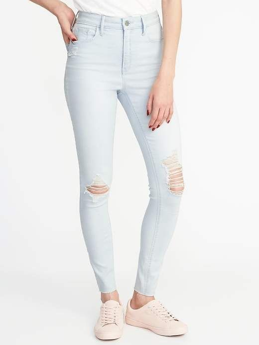 d0f98cf572b Old Navy High-Rise Secret-Slim Pockets Rockstar Ankle Jeans for Women