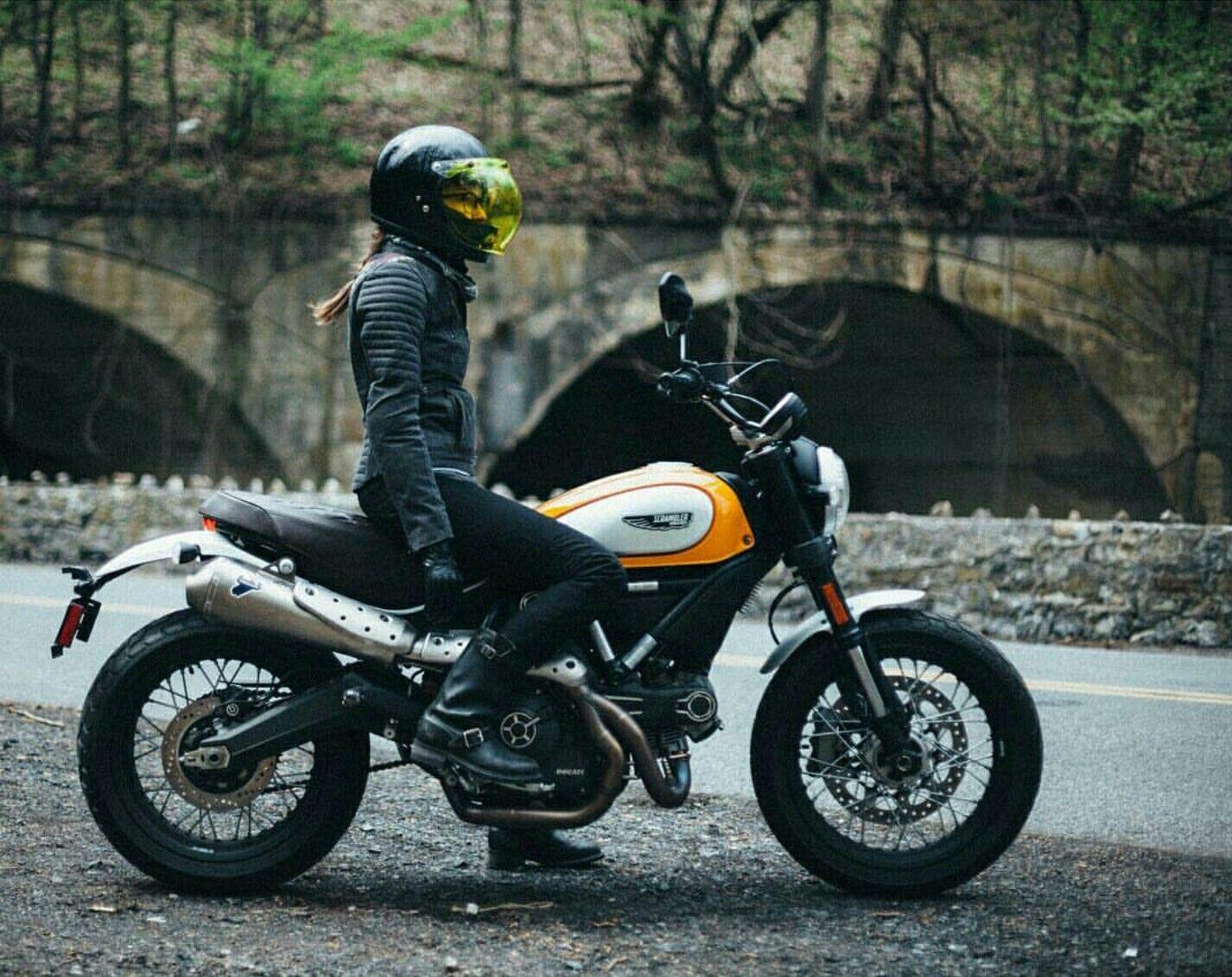 Urban Tribe Womens Motorcycle Jacket Motorbikes Ducati