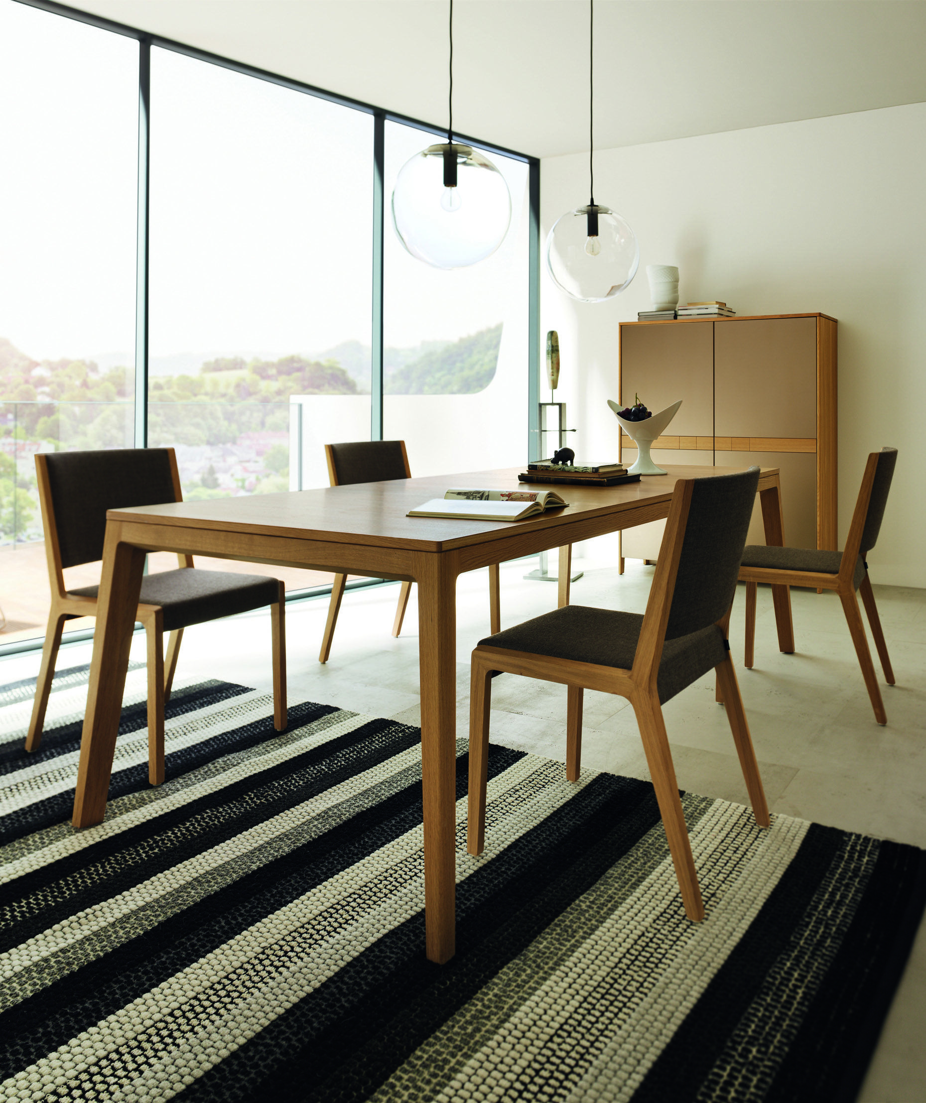 Mylon dining table by TEAM7 starts @ $2968 CAD for solid wood and a ...