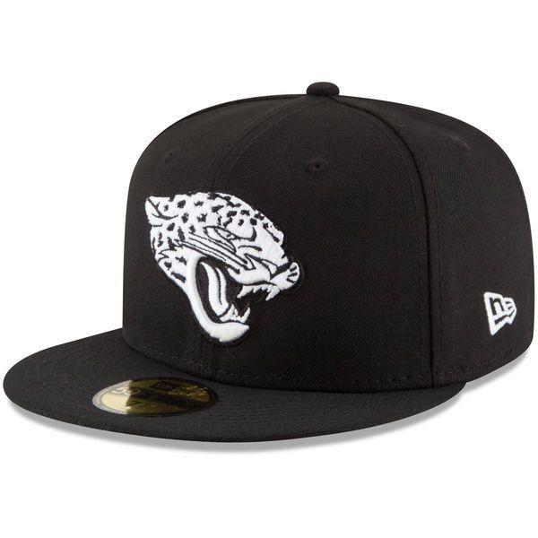 314071b1 NFL Jacksonville Jaguars Men's New Era B-Dub 59Fifty Fitted Hat in ...