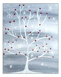 small canvas christmas paintings – Google Search