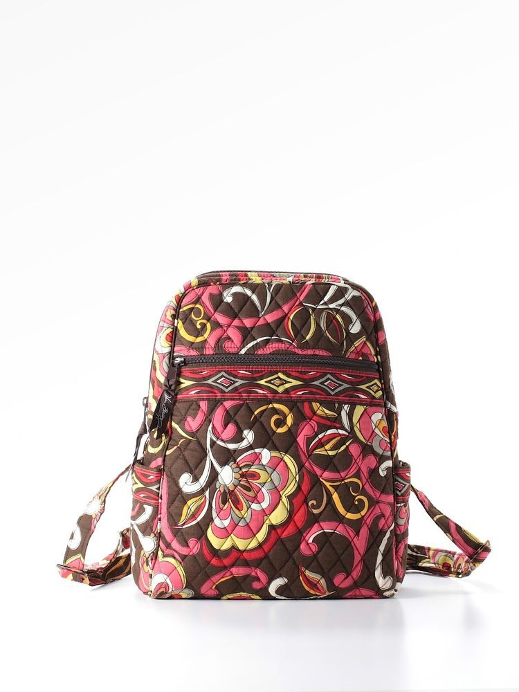 7f02a96a7c7 Vera Bradley Small Backpack Purse Puccini Retired EEUC  verabradley   BackpackStyle