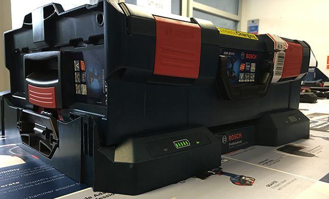 Lot de 3 batteries 18V 4000mAh pour Bosch GML50 Baustellen Radio