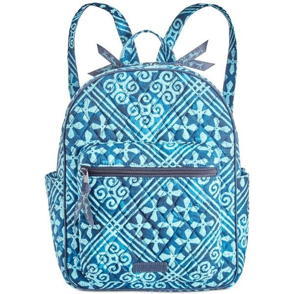 Vera Bradley Leighton Backpack ( 88) ❤ liked on Polyvore featuring bags,  backpacks, 19d34bc19d