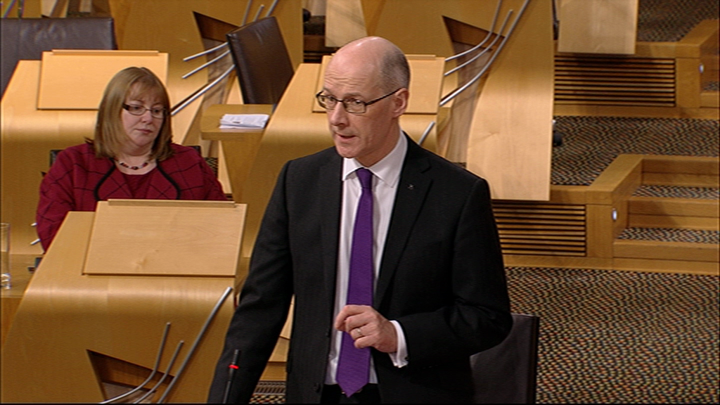 Plenary Session - Part II - Scottish Parliament: 23rd February 2016