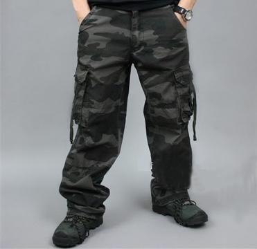 e4261ab1db Pantalones militares baratos Pantalones Cargo Hombre