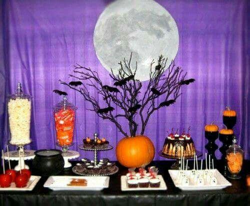 MESA DE DULCES PARA HALLOWEEN Cupcakes Pinterest Halloween