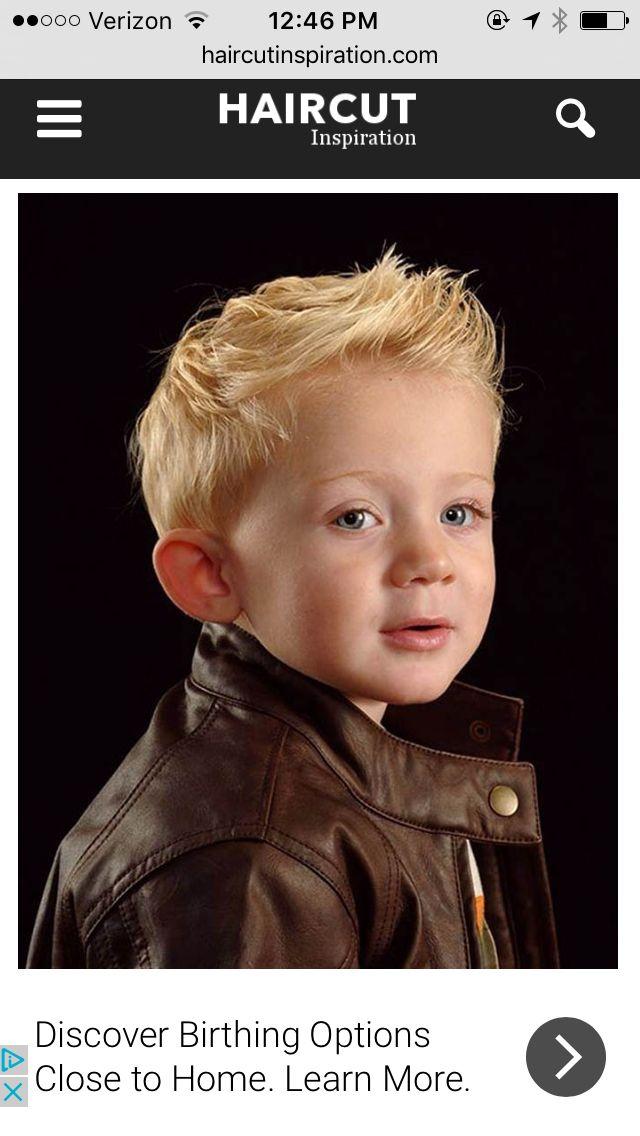Pin Von Stacey Petty Auf Haircut Jungen Haarschnitt Kleinkinder Haarschnitt Blonde Jungs