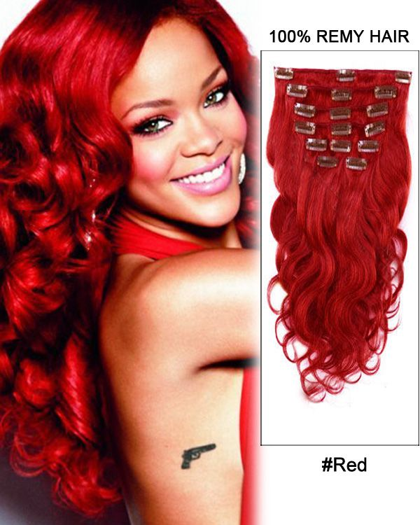 16 inch 7pcs body wave brazilian clip in remy hair extensions red red body wave remy hair clip in hair extensions looking for hair extensions to refresh your hair look instantly focus on offering premium quality remy pmusecretfo Gallery