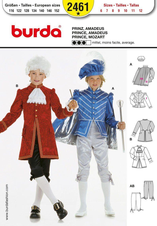 Burda patrón de costura para traje de neopreno para mujer 2461 ...