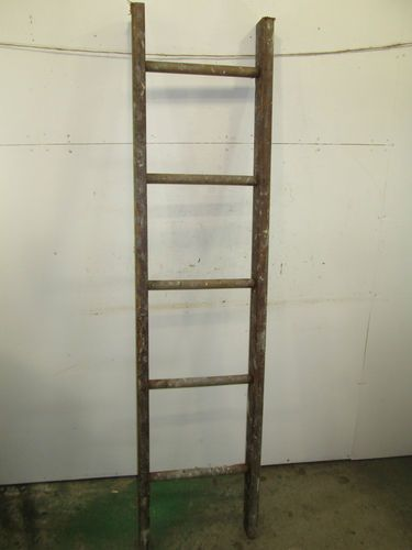 Vintage Wooden Extension Ladder Section Decor Use 43 Ebay