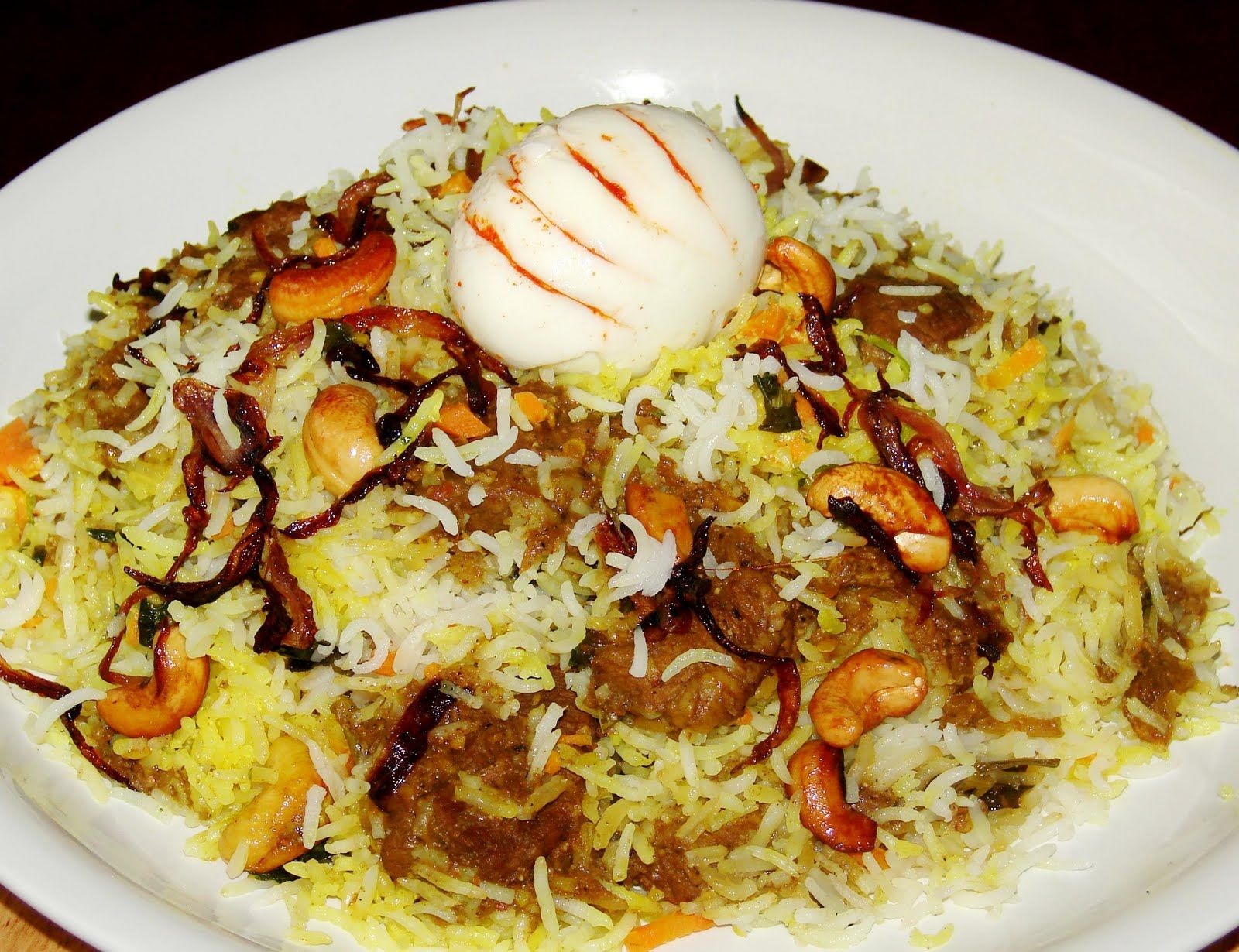 Dum biryani muslim style of dress