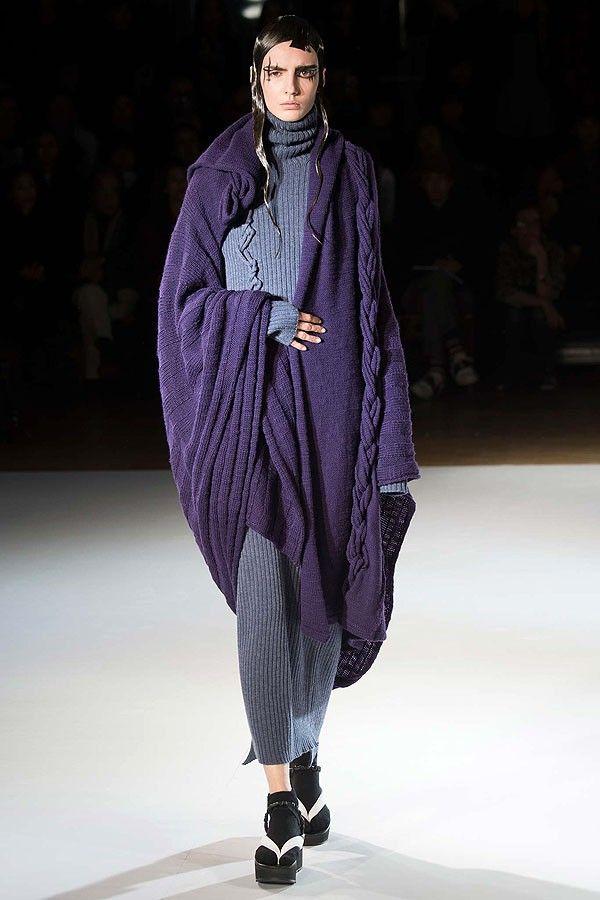Under Construction: Yohji Yamamoto Fall 2015   Hint Fashion Magazine