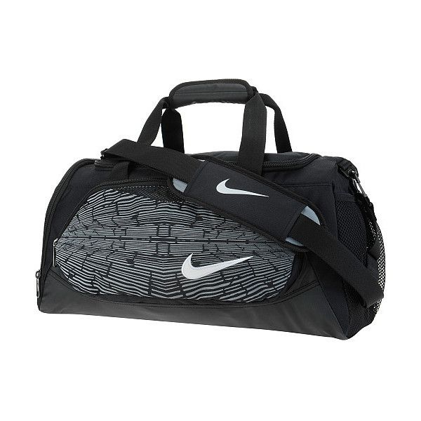 9b556475b19c Nike YA Team Training Small Duffel Bag ( 30) ❤ liked on Polyvore featuring  bags