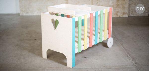Babybett Selber Bauen das babybett dada mit wickelablage zum selber bauen mit ca 100