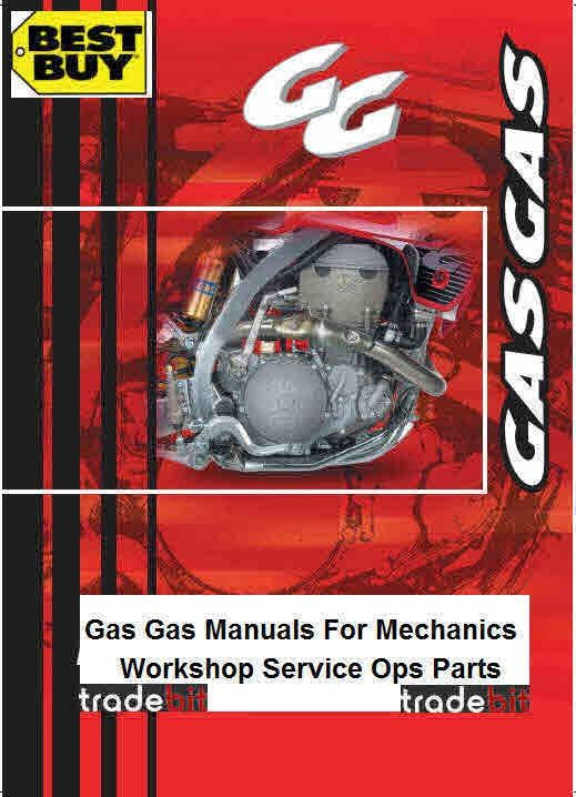 gas gas workshop parts and operation manualsall on one conveniant rh pinterest com Honda Motorcycle Service Manual Harley-Davidson Motorcycle Service Manuals