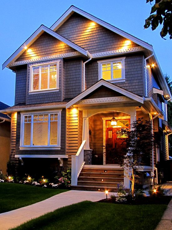 Exterior Contemporary Colonial Homes Design, Pictures, Remodel ...