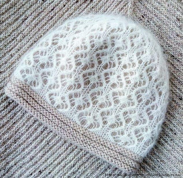 Узоры для вязания для детских шапок