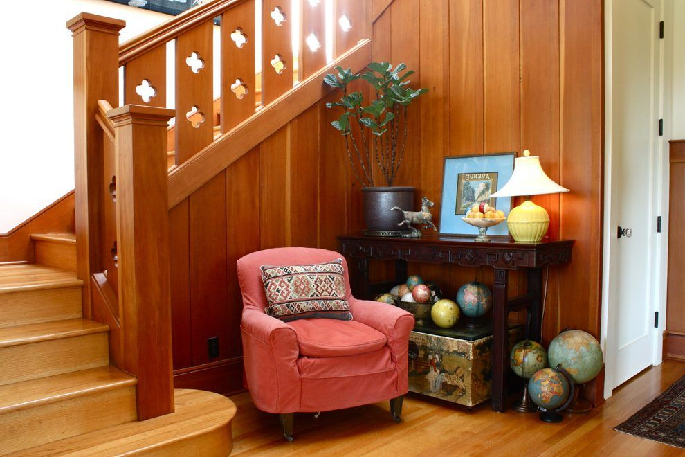 Best Flat Sawn Balusters Entry Traditional With Globes 640 x 480
