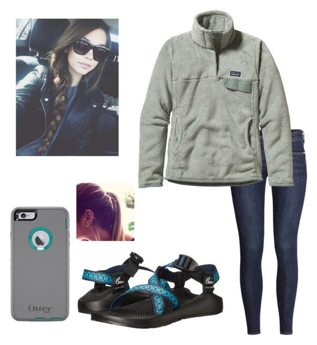 """""""Lazy day today"""" by zlincoln ❤ liked on Polyvore featuring H&M, Patagonia and Chaco"""