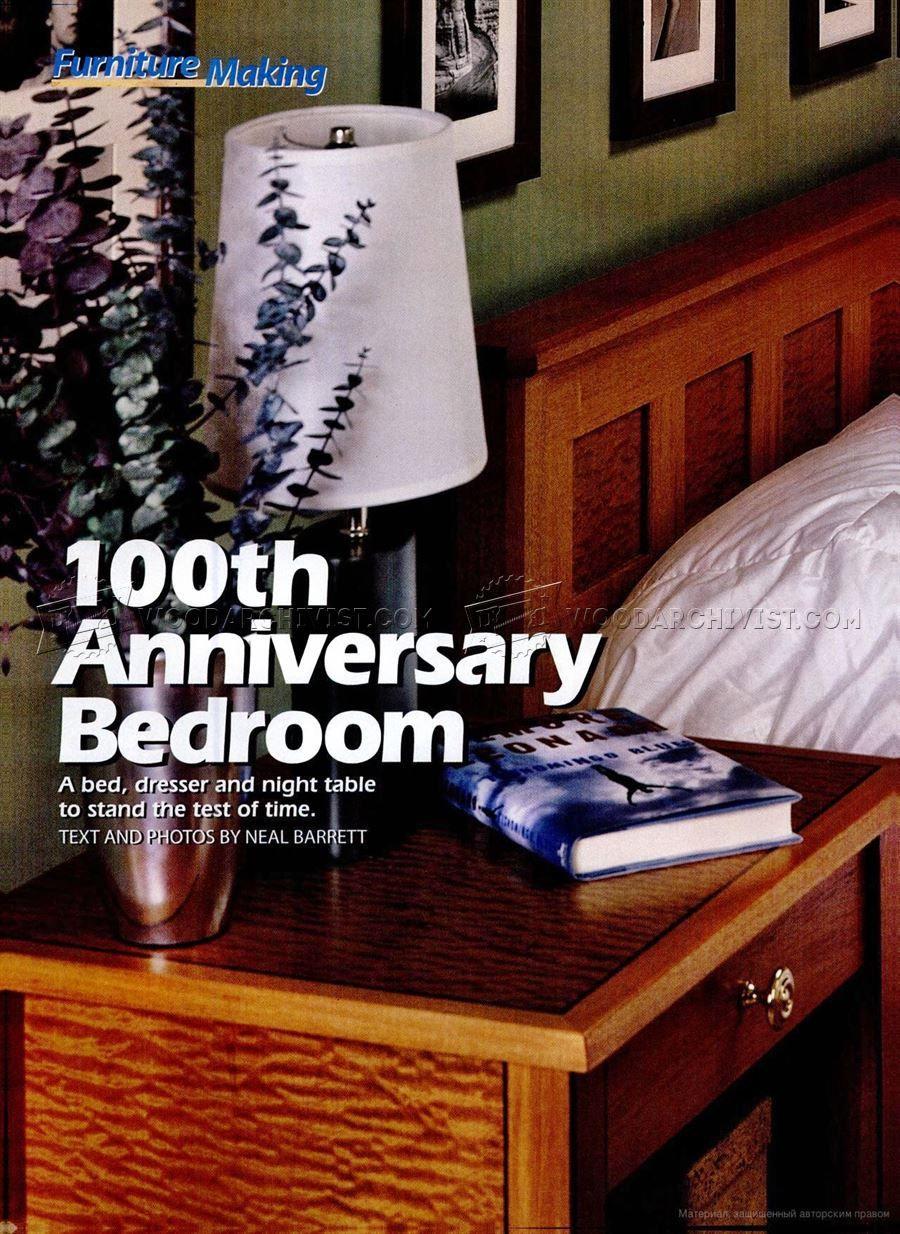 1569 Bedroom Furniture Plans - Furniture Plans and Projects ...