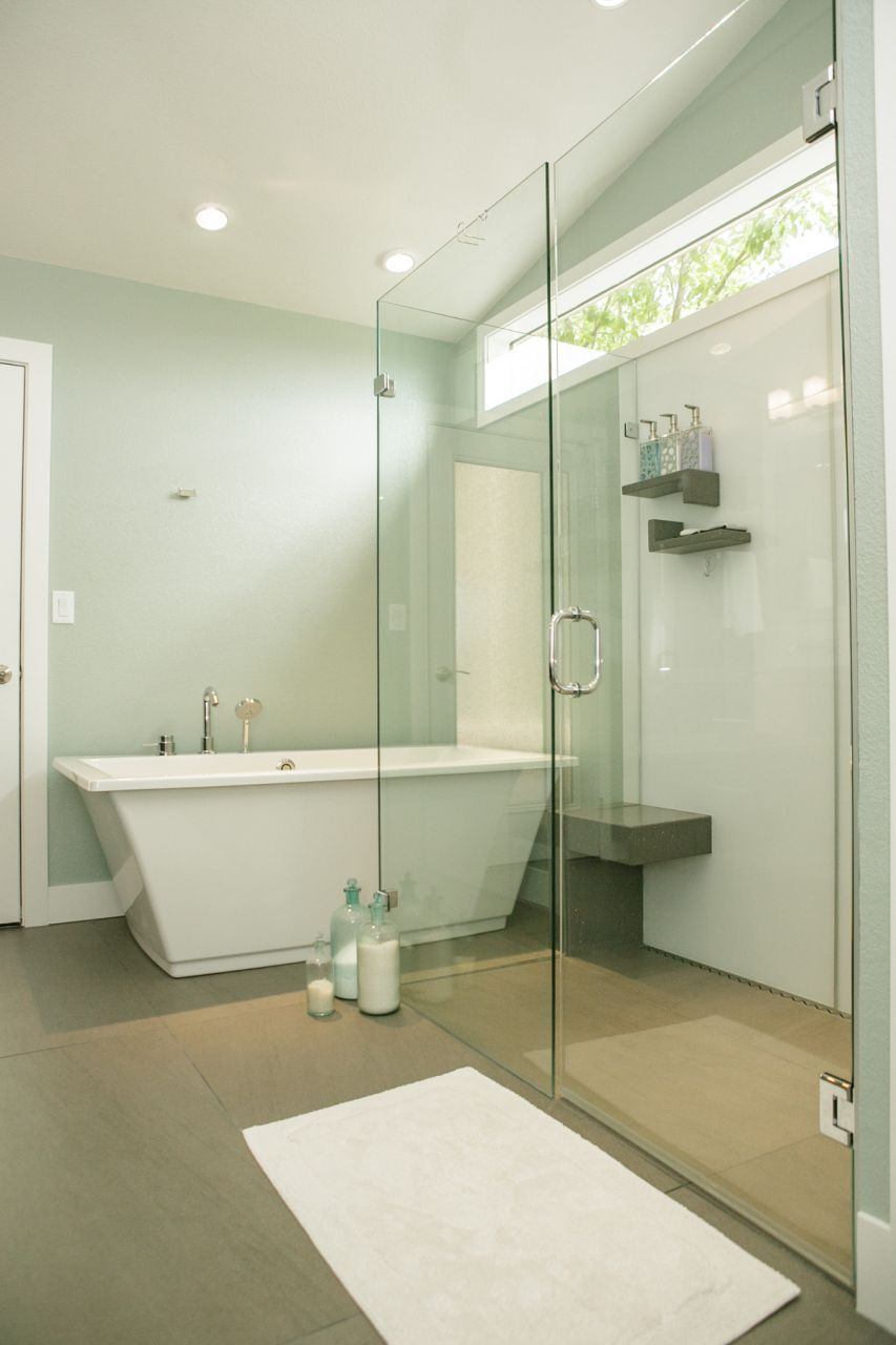 Create a Seamless Look with a Barrier Free Shower Base | Shower base ...