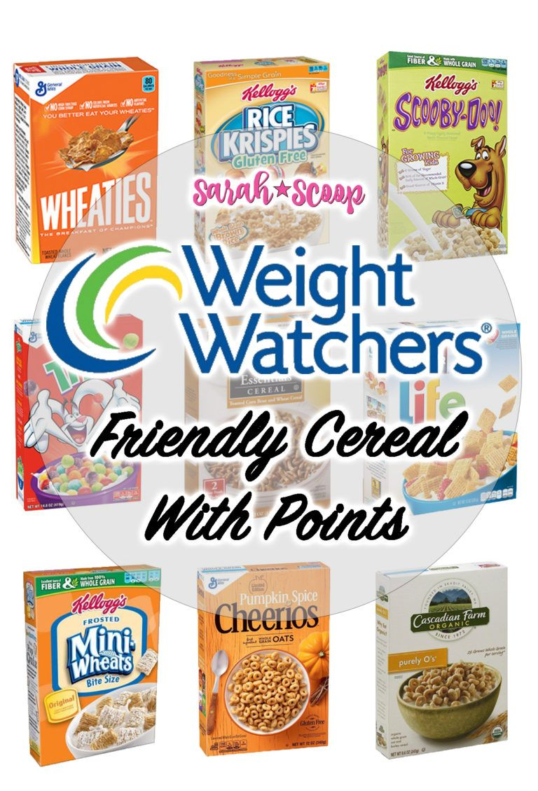 Weight Watchers Friendly Cereals List (All Under 4 Points) images