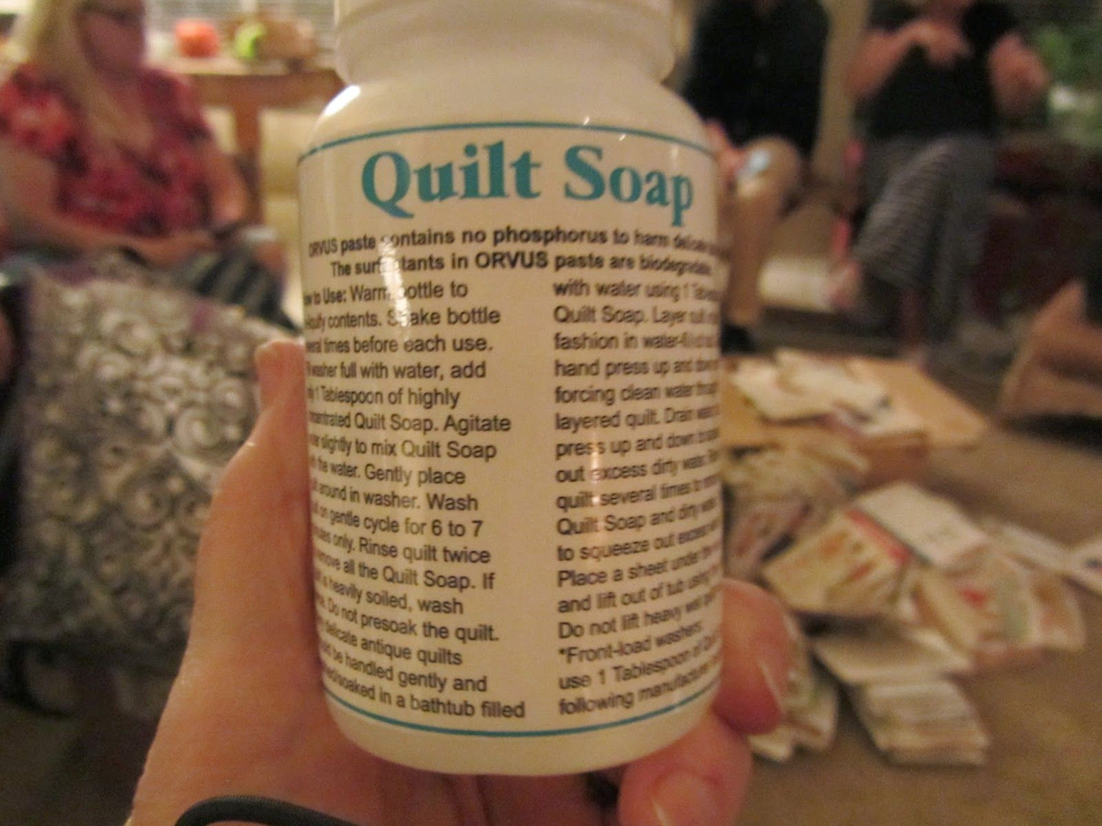 labels gorges category quilt washing freshening orvus soap
